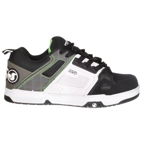 dvs shoes dvs shoes dvs comanche skate shoes black white high