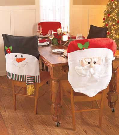 sets of 2 holiday chair covers the lakeside collection