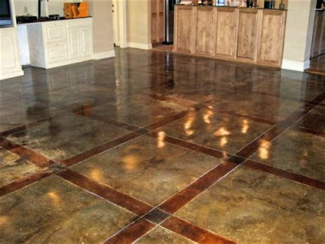 exterior home products concrete flooring the pros and cons