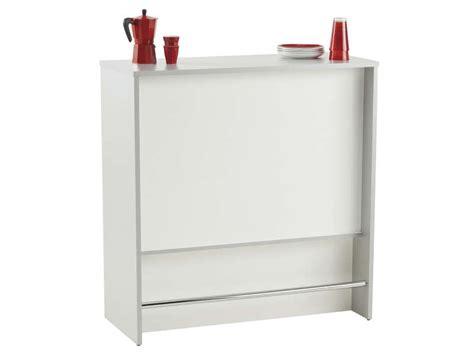 meuble bar cuisine conforama meuble haut cuisine but 4 el233ment bar spoon blanc