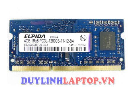 Ram Elpida 4gb Ddr3 ram laptop elpida 4gb ddr3 12800s ch 237 nh h 227 ng gi 225 rẻ