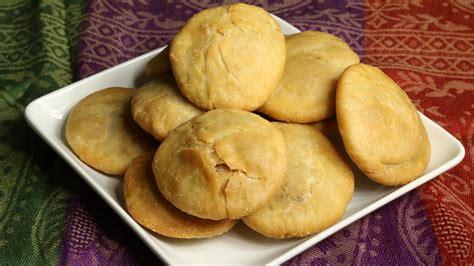 hing kachori urad dal kachori manjula s kitchen indian vegetarian