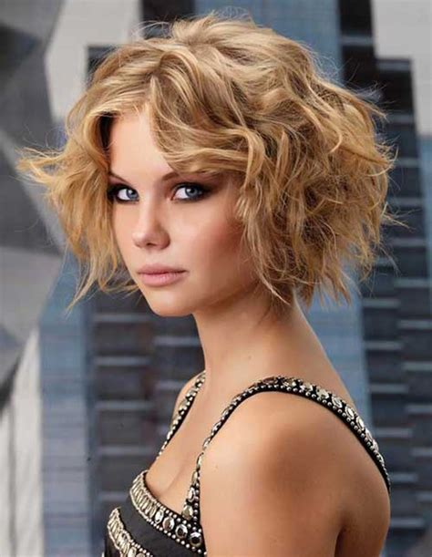 short curly hairstyles for women 2015 short wavy hairstyles for round faces 2015 women styles