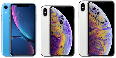 iphone xr iphone xs  iphone xs max  apple