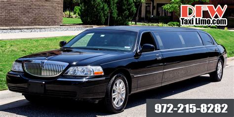 Limo Taxi by Dfw Taxi Limo Dallas Airport Limousine Service