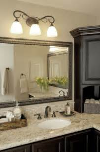 Bathroom Vanity And Mirror Ideas Elegant Bathroom Light Fixtures Over Large Vanity Mirror