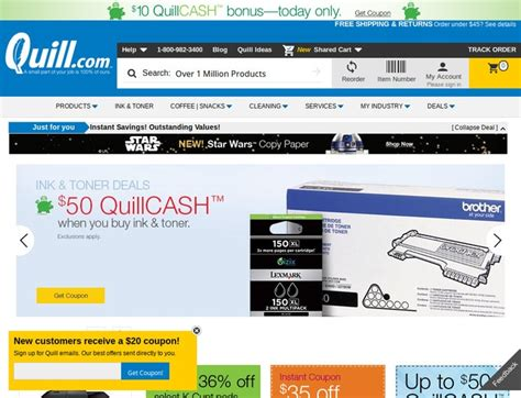 Quill Office Products by Quill Office Products Coupons Quill Promo Codes