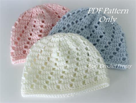 pattern crochet baby hat beginners baby beanie hat crochet pattern beginner skill level size