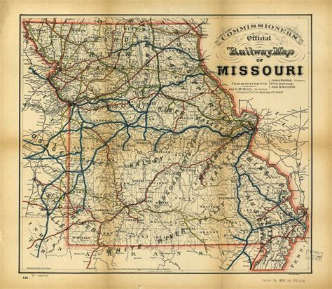 missouri pacific railroad map johnson county and western missouri history 1886 and 1888