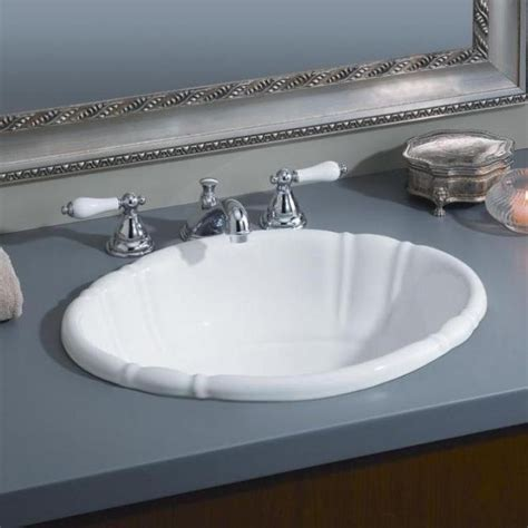 how to install drop in bathroom sink drop in bathroom sinks oval goenoeng