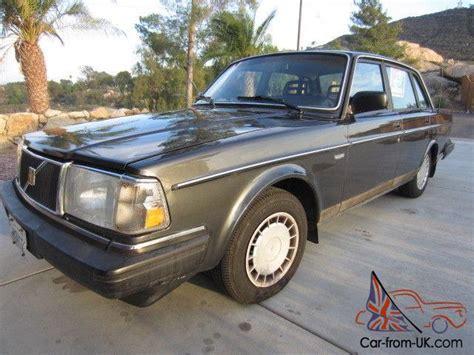 volvo 1989 sedan 1989 volvo 240 dl sedan clean original new tires