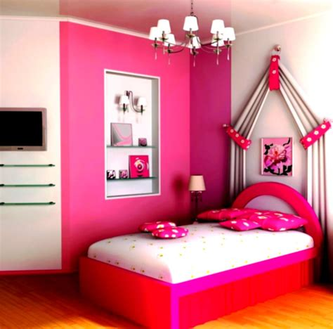 lovely decoration ideas for bedrooms with pink