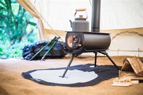 portable woodburning stove heats up tents yurts tiny