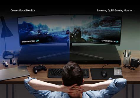 Samsung Qled Gaming samsung lc49hg90 49 inch curved qled gaming monitor