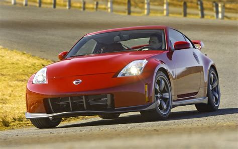 nissan 350z nismo 2008 nissan 350z nismo widescreen car wallpapers