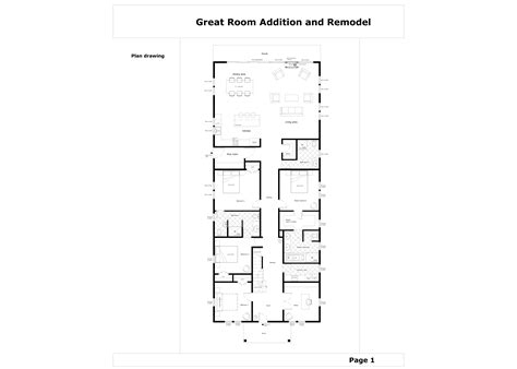 great room addition floor plans floor plans project designed by gordana potezica great