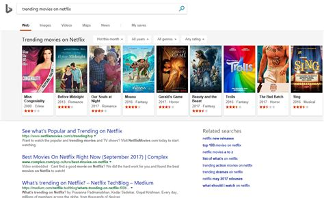 latest gadgets movie search engine at search com new bing updates make search results as visual as google