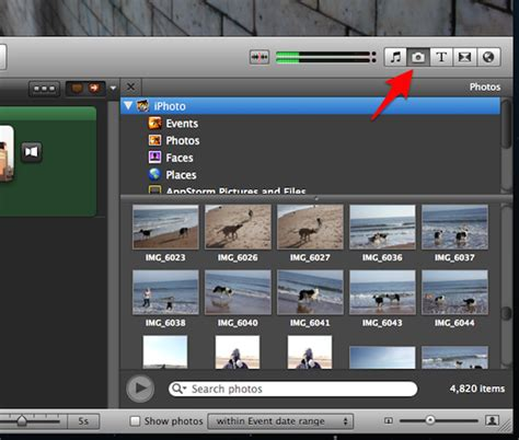 slideshow themes iphoto download creating a slideshow with imovie and burning it to a dvd