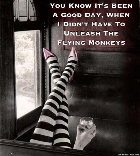 Flying Monkeys Meme - have a good day quotes funny quotesgram