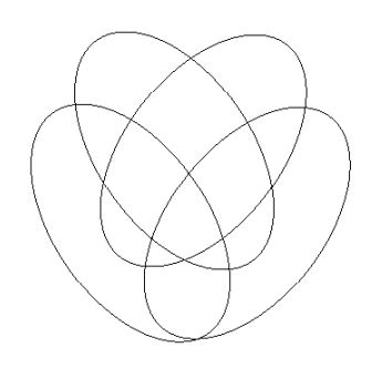 4 circle venn diagram logic 4 set venn diagram in tikz tex stack