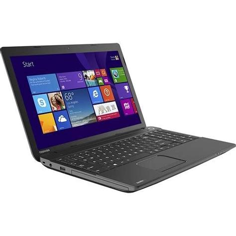 Laptop Toshiba Satellite Ram 4gb toshiba satellite c55 a5105 15 6 inch laptop intel dual celeron processor n2820 4gb ram