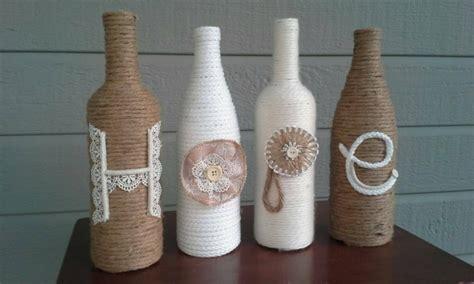 decorar jarrones con esparto cuerdas de c 225 241 amo para decorar cuencos y jarrones