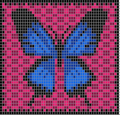 butterfly knitting chart 167 best afghan ideas images on crochet