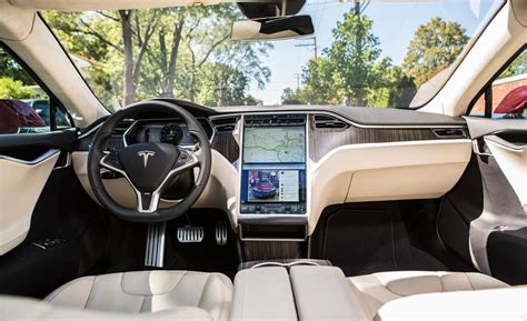 Tesla Model S Interior Pictures Car And Driver