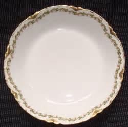 haviland limoges china quot clover leaf quot pattern soup bowl