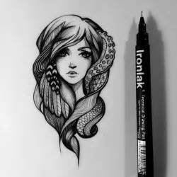 On pinterest hipster girl drawing dark artwork and google search