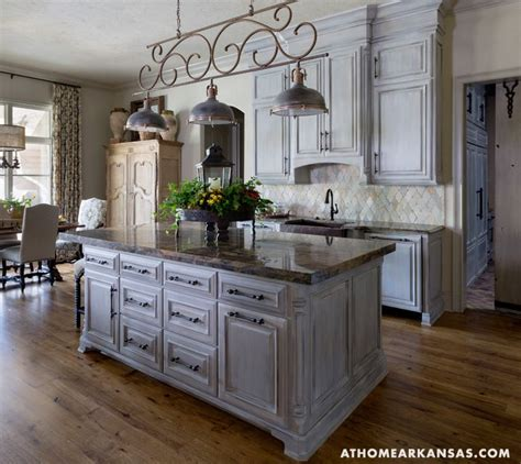 Antique Grey Kitchen Cabinets Pin By At Home In Arkansas Magazine On Kitchens