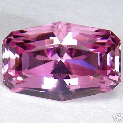 Pink Topaz Memo Id Lab Gri cubic spinel gem resource international