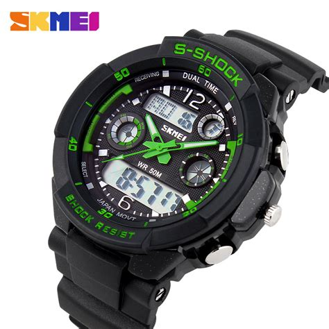 S Shock Sport 2168 2016 s quartz digital sports watches relogio masculino skmei s shock relojes led