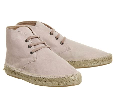 light pink suede boots solillas espadrille boots light pink suede sandals