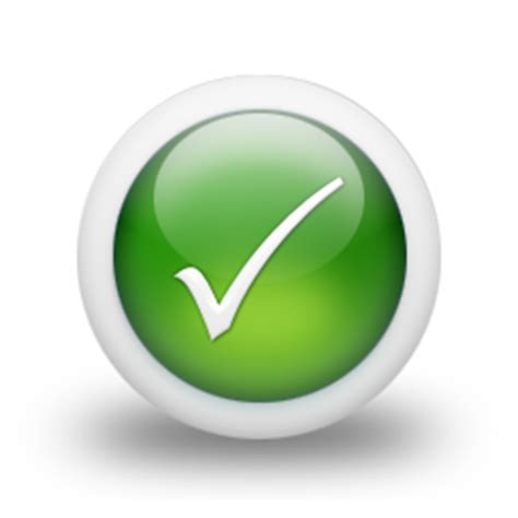 Green Check No Background Green Tick No Background Clipart Best
