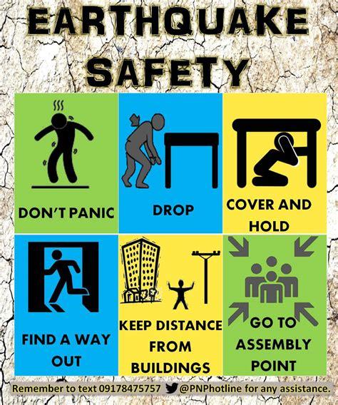 earthquake hazards earthquake safety tips for kids www pixshark com