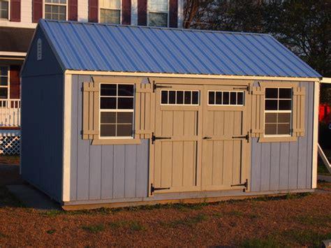 Storage Sheds Burlington Nc by Wooden Buildings Hometown Sheds