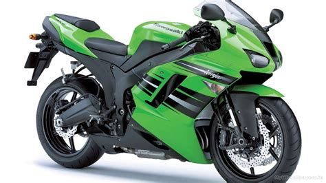Zx Car Wallpaper Hd by Kawasaki Zx 6r Blue Green Hd Car Wallpapers