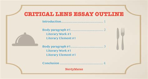 Writing A Critical Lens Essay by Critical Lens Essay How To Explore A Quote The Loop Nerdymates