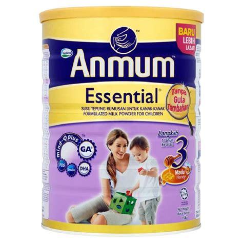 Anmum Essential 1 Anmum Essential Step 3 Honey 1 6kg Shopping