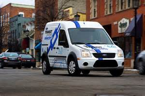 At T Connected Car Ford At T Acquires Ford Transit Connect Electric Vans