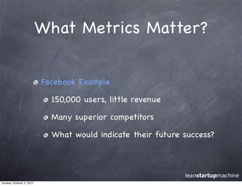 metrics matter how to measure the metrics that determine real progress
