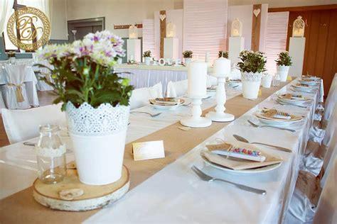 Hochzeitsdeko Eckige Tische by Best Of Hochzeitsdeko