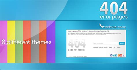 http error page templates 24 awesome 404 error page html templates web graphic