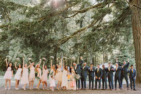 Chika & Steven's Olympic National Park Wedding at Lake