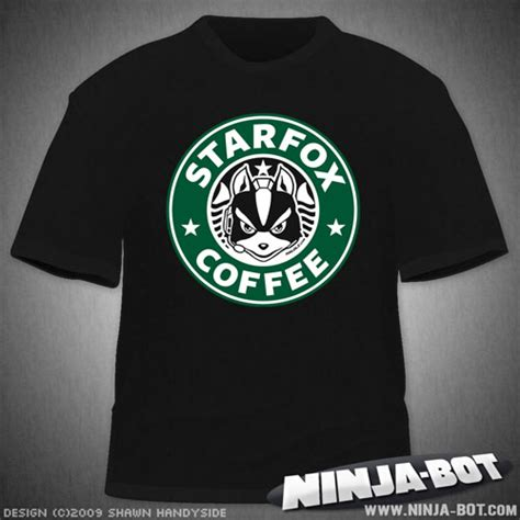 coffee shop t shirts design starfox coffee t shirt design by stacmaster s on deviantart