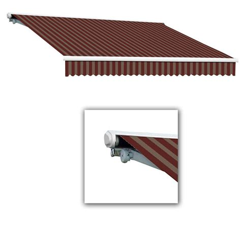 20 Ft Retractable Awning by Awntech 20 Ft Lx Destin With Manual Retractable