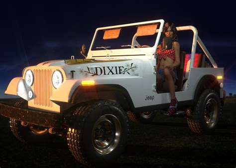 Dukes Jeep Duke Jeep By Vrussell Daz Studio Character Formulas
