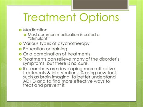 Adhd Treatment For 4 Year - adhd