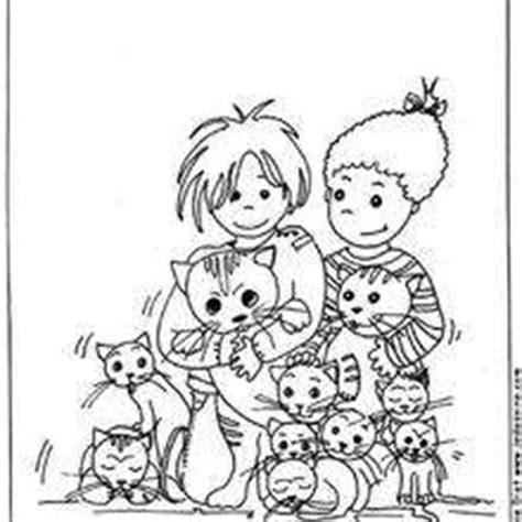 cat family coloring page cat family coloring pages hellokids com